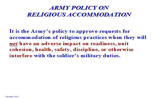 Accommodation policy and procedure