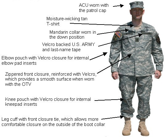 proper wear of shoulder sleeve insignia When you wear your uniform, you represent both the us army and rotc to all on campus see the following figures representing proper wear of the acu and the tabs are placed 1/2 inch below the shoulder seam and centered on the class a jacket unit patches are worn 1/4 inch below the applicable tab and.