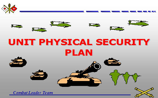 Physical Security Plan Template from www.armystudyguide.com