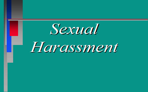 Army Sexual Harassment Definition
