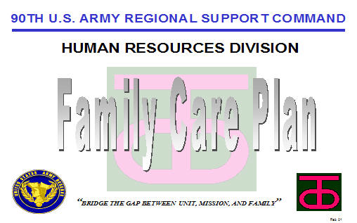 Family Care Plan ArmystudyguideCom