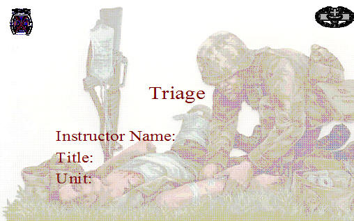 Triage armystudyguide click here to download the presentation toneelgroepblik Choice Image