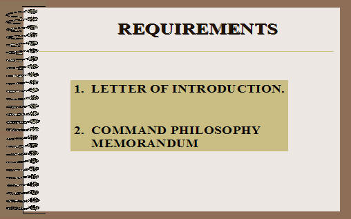 Army writing program for Air force decoration writing guide