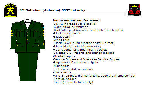 Wear and Appearance of Army Uniforms Flashcards | Quizlet