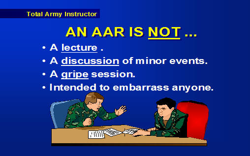 Conduct An AfterAction Review ArmystudyguideCom